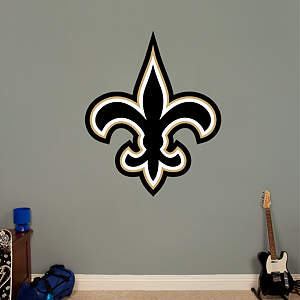 New Orleans Saints Logo Fathead Wall Decal